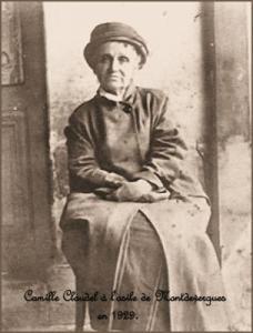 Camille Claudel en 1929