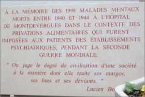 Plaque commémorative Expo Camille Claudel