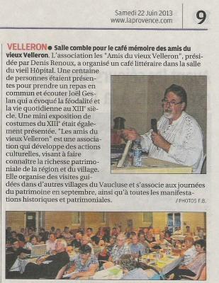 AVV presse 22 juin 2013