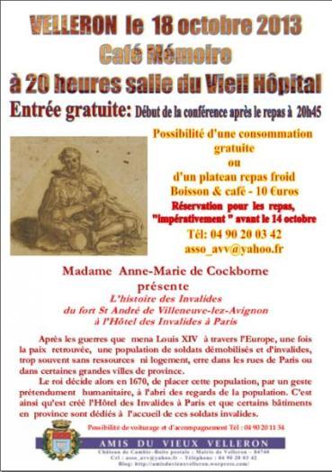 Café Mémoire Les Invalides