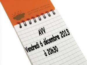 Réunion 6 décembre 2013