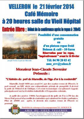 Café Mémoire Port de Marseille