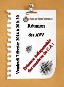 Réunion février 2014