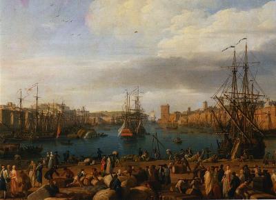 Port Marseille par Joseph Vernet