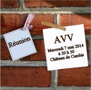 Réunion 7.05.2014