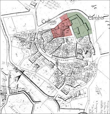 Plan du village-les châteaux
