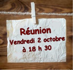 Réunion octobre 2015
