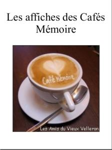 Affiches des Cafés Mémoire