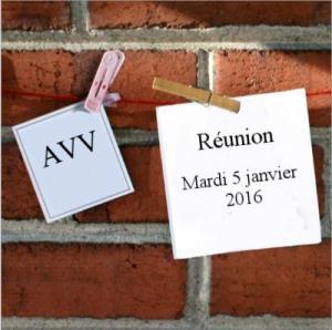 Réunion janvier 2016